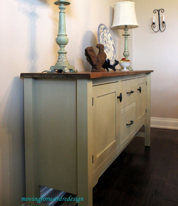 Annie sloan chalk paint sideboard for Painted buffet sideboard