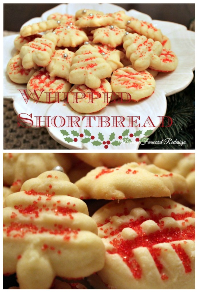 whipped short bread cookies
