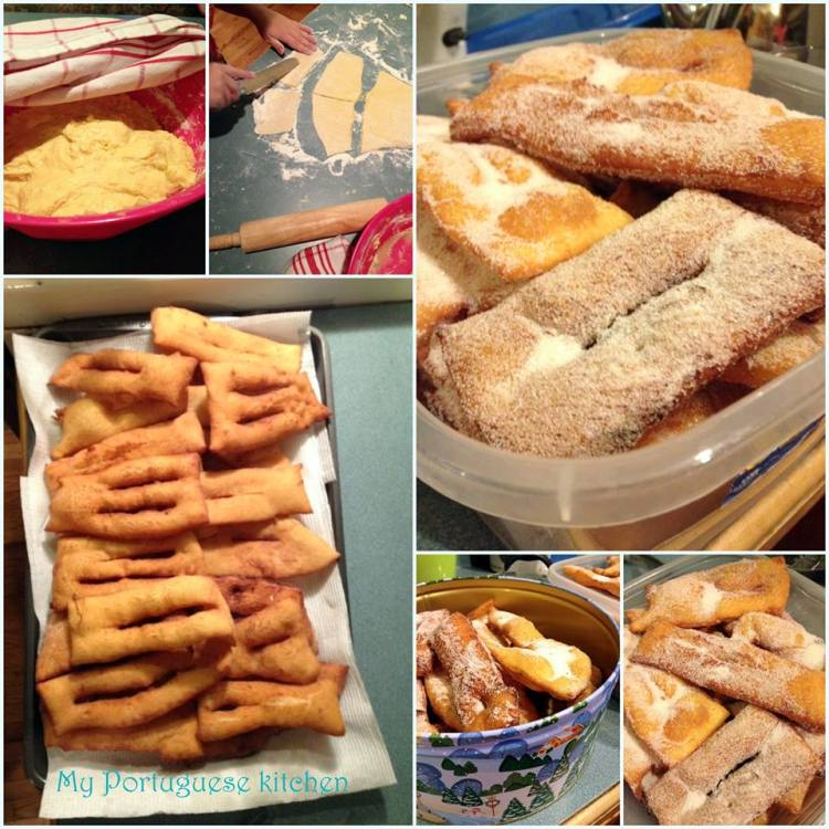 cocoroes, Portuguese fried dough