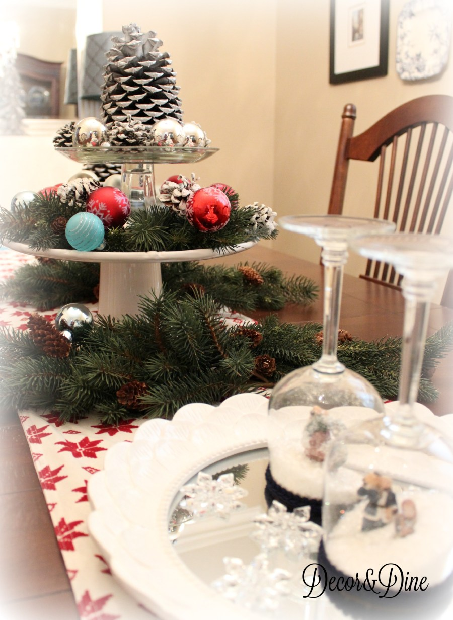 Dining room table top decorations