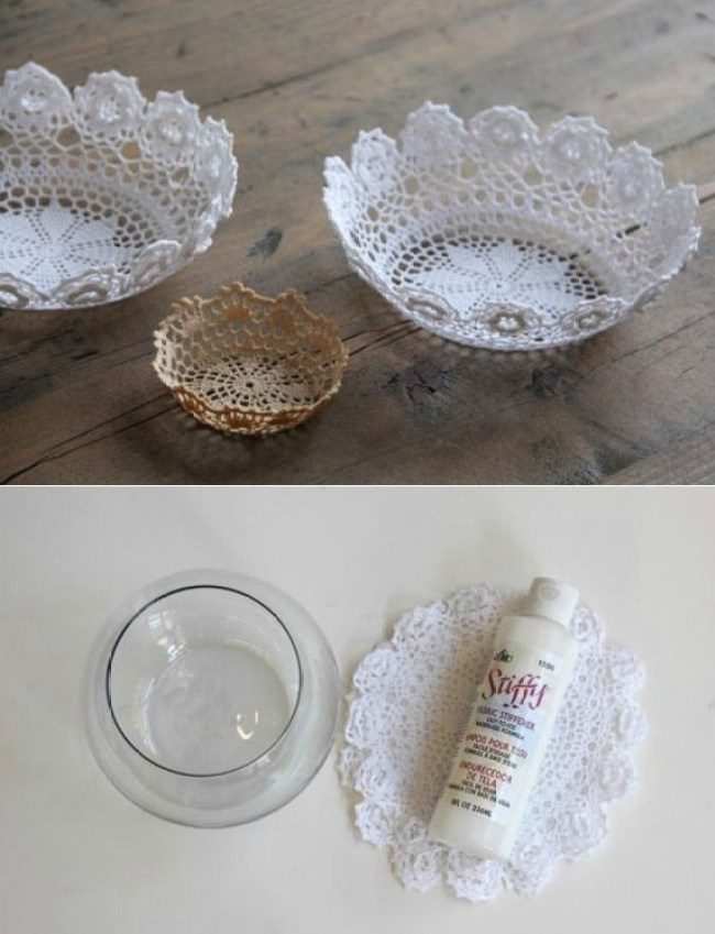 DIY-Easy-Doily-Bowl