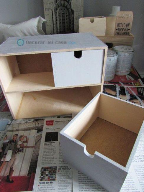 DIY para cambiar la minic�moda MOPPE de Ikea