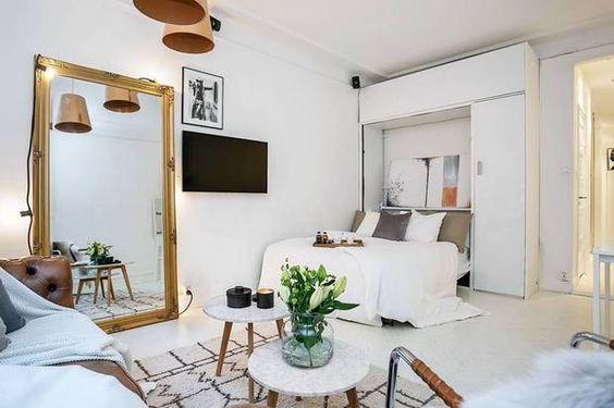 Cómo decorar un piso pequeño, 20 ideas sencillas Decorar mi casa - Como Decorar Mi Casa