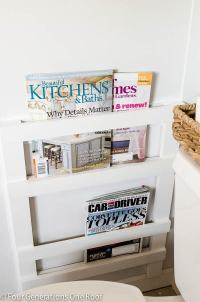 Creative DIY Magazine Racks | Decorating Your Small Space