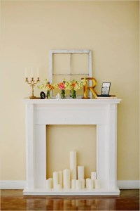 Faux Fireplace Ideas and Projects | Decorating Your Small ...