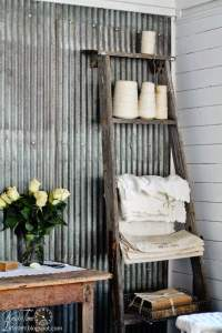 Ways to Decorate with Corrugated Metal | Decorating Your ...