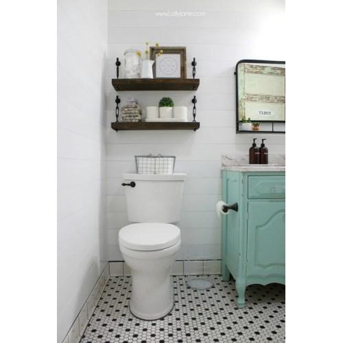 Medium Crop Of Homemade Shelves For Bathroom
