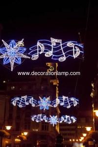 Christmas street light decoration/ led street motif lights ...