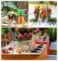 Decoration mariage tropical : 1001 ides