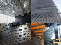 Indoor , Outdoor Aluminum Decorative Panels Composite Wall ...