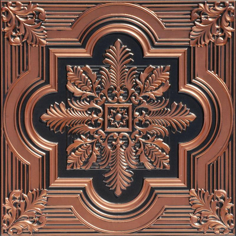 Antique Copper Ceiling Tiles