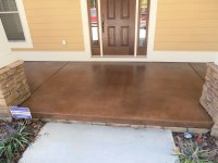 Stained Concrete for Exterior Porches & Patios ...