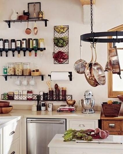 Trucos Para Organizar Cocinas Pequenas