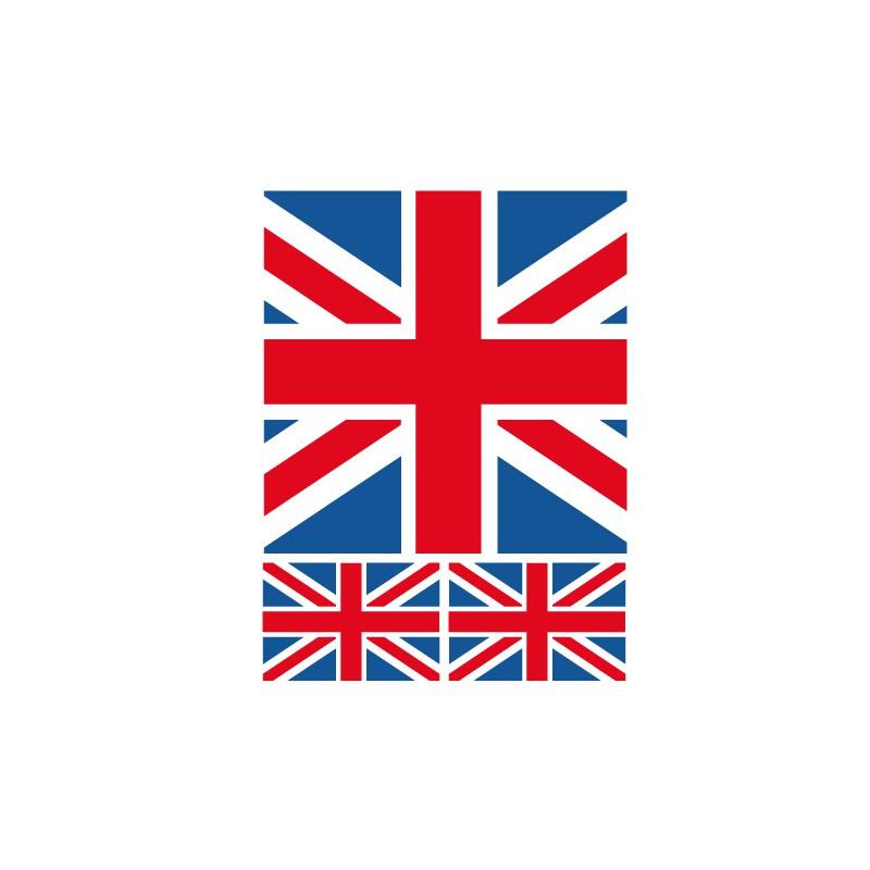 mini drapeau anglais pour cv