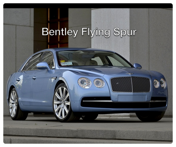 Bentley Flying Spur Tuning Ab 2015: A Girl, A Bentley And A Racetrack