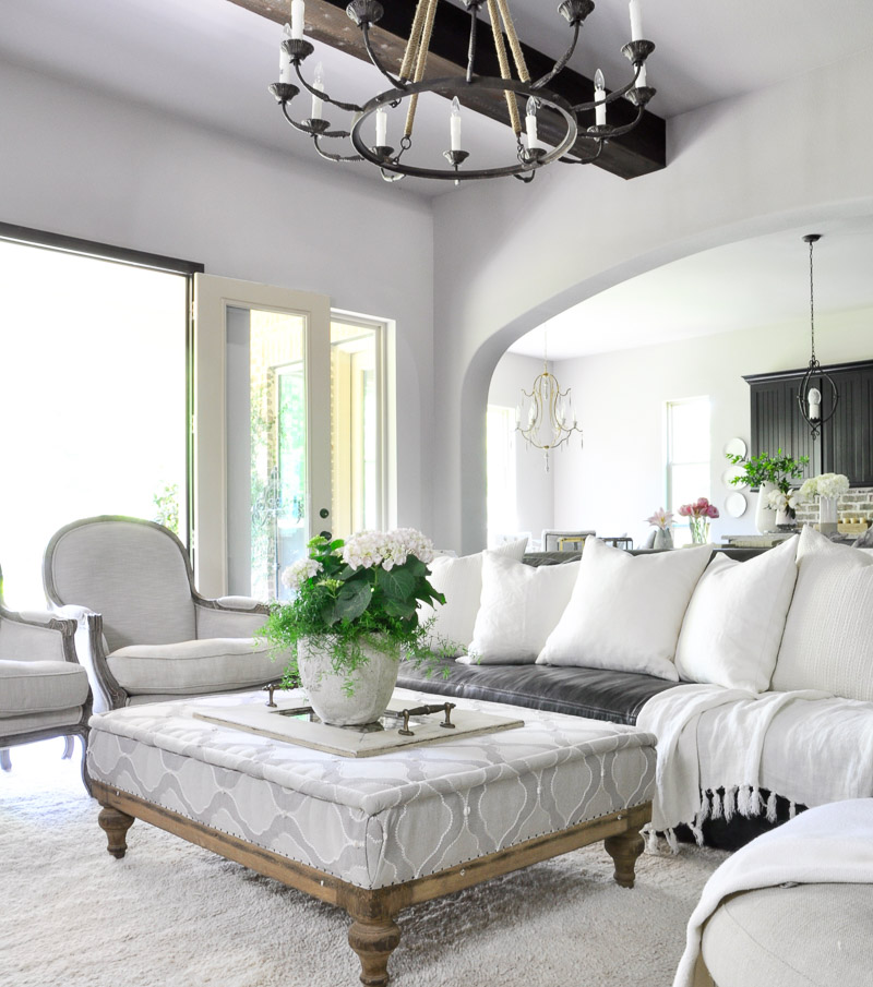 How to Decorate an Open Concept Living Area - Decor Gold Designs - open concept living room