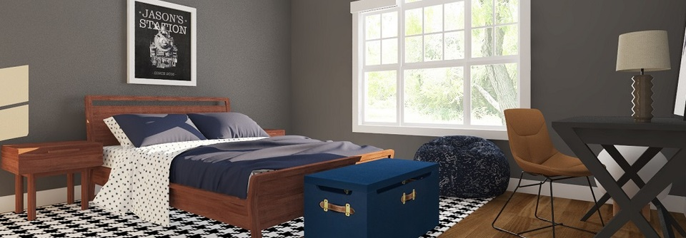Contemporary Boys Room Decorilla