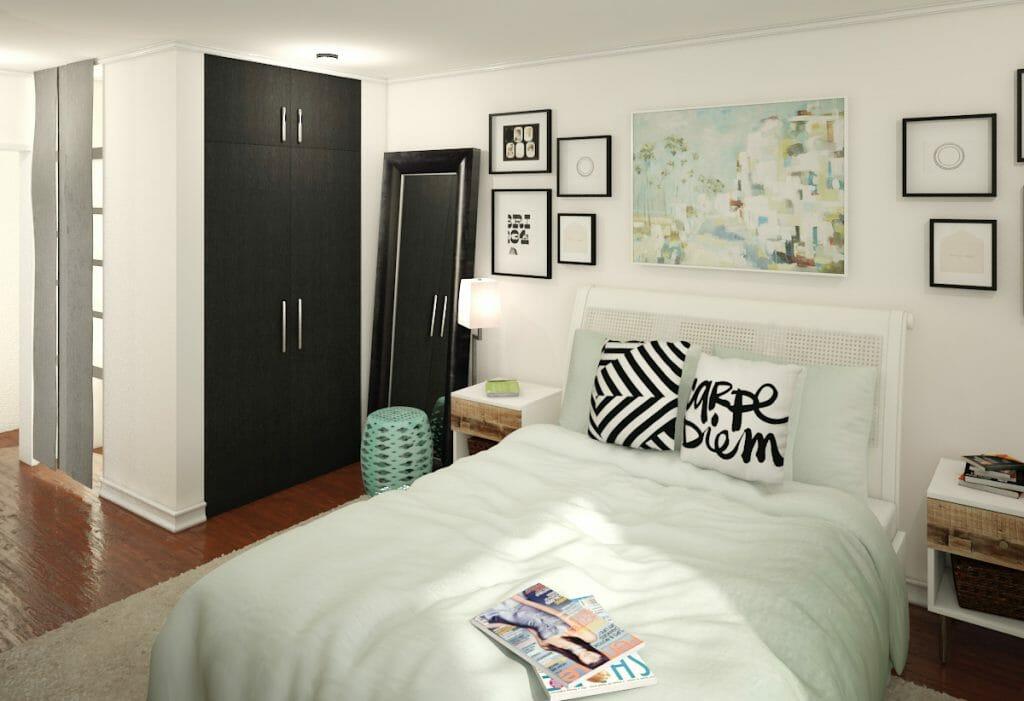 Before \ After Online Interior Designer Bedroom - Decorilla - design bedroom online