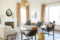 Before and After: Our CEO's Luxe Modern-Eclectic Living ...