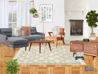 Modern-Eclectic Living Rooms At Every Budget | Decorist