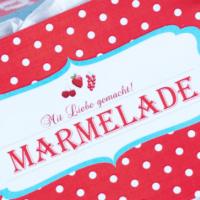 Das Glück im Glas: Marmelade hübsch verpackt! DIY-Printables