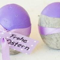 Ach du dickes Ei: Ostereier aus Beton