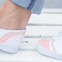 Upcycling DIY: Bemale Deine Schuhe