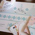 可愛いボックスや封筒がダウンロード・印刷できる、海外ブログ「Zü」