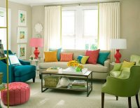 Cosy and Colorful living room design ideas