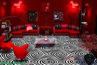 Red Living Room Decorations