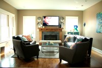 Surefire Ideas to Arrange Living Room with Fireplace ...