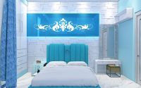 20+ Aqua Bedroom Ideas 2018 | Decor Or Design