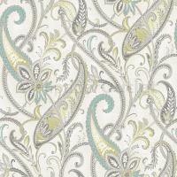 - Holden Decor K2 Feature Tropical Paisley Soft Teal Cream ...