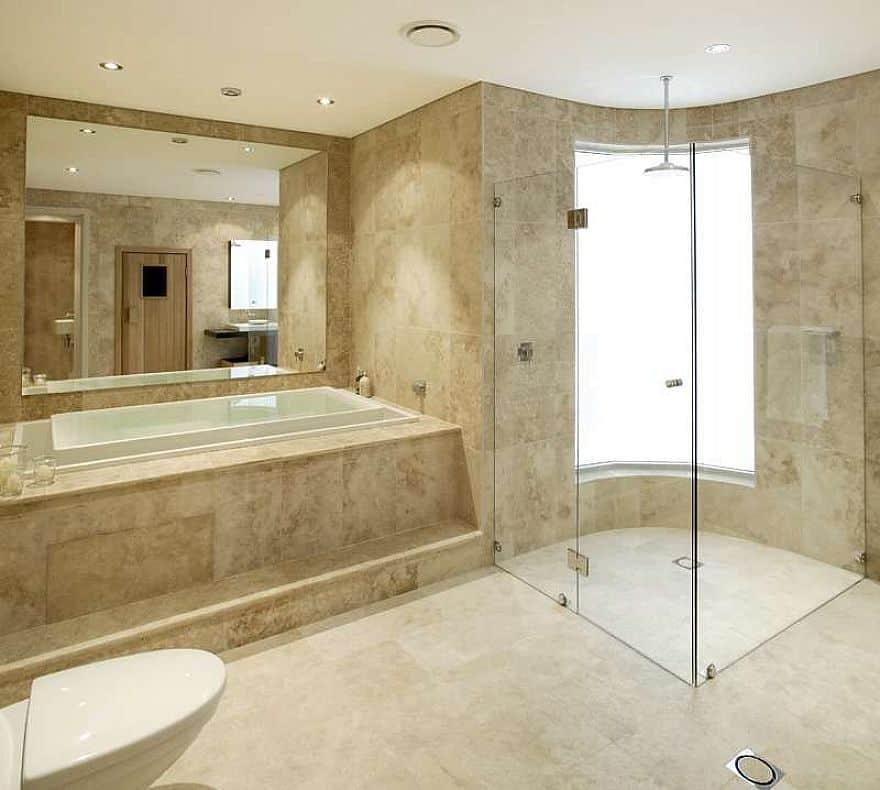 Bathroom Tile Ideas and Photos (A Simple Guide) - bathroom floor tiles ideas