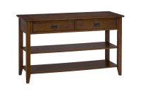 Mission Oak Sofa Table Oak Sofa Table Custom Handcrafted ...