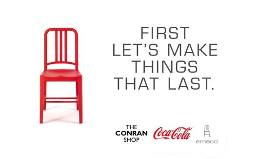 la chaise navy 111 by coca cola et emeco deco tendency. Black Bedroom Furniture Sets. Home Design Ideas