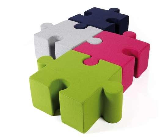 Kidz Puzzle pouf pour les enfants