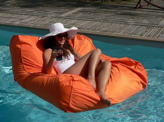 Pouf pour piscine blog d coration deco tendency - Pouf piscine waterproof ...