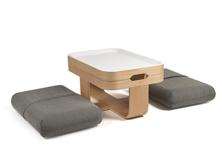 Mister t la table basse transformable by antoine lesur for Table basse pour manger