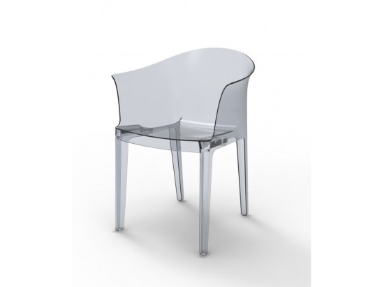 fauteuils transparents tulipano petit prix deco tendency. Black Bedroom Furniture Sets. Home Design Ideas