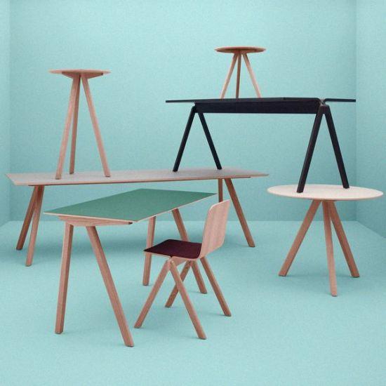chaise haute copenhague by ronan et erwan bouroullec. Black Bedroom Furniture Sets. Home Design Ideas