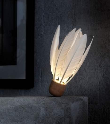 shuttlecock la lampe by godefroy de virieu deco tendency. Black Bedroom Furniture Sets. Home Design Ideas