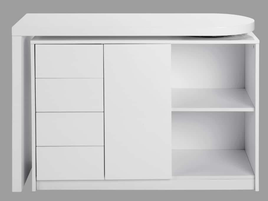 Bureaux modulables pour les petites surfaces for Meuble bureau extensible