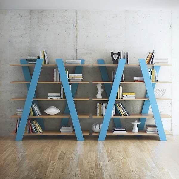 wind les tag res diagonales deco tendency. Black Bedroom Furniture Sets. Home Design Ideas