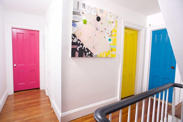 Id e d co chambre comment ajouter de la couleur for Porte 2 couleurs