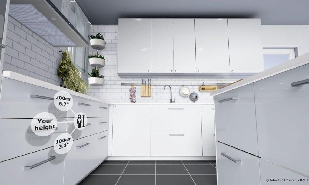 Ikea vr d couvrez votre cuisine en r alit virtuelle for Application cuisine ikea