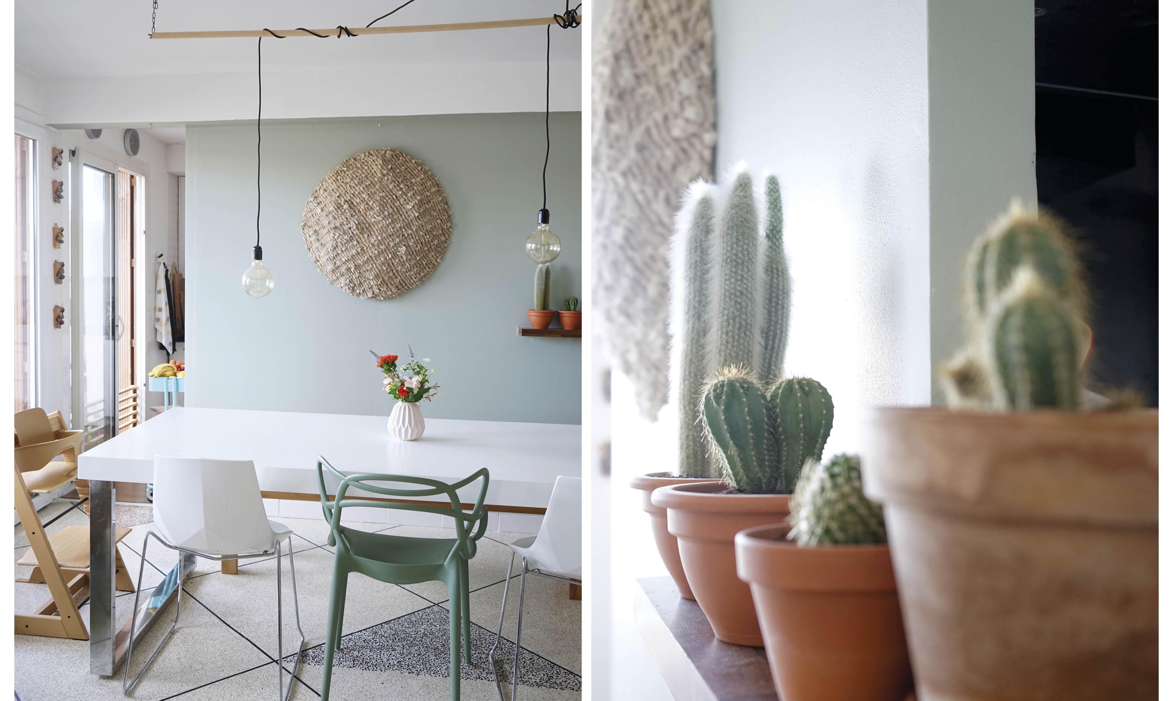 avant apr s mon mur et mon s jour changent de couleur decouvrirdesign. Black Bedroom Furniture Sets. Home Design Ideas