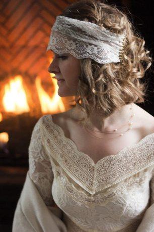 1920s Boho Lace Headband