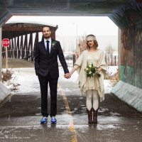 1920s Boho Winter Wedding || Carmen + Justin