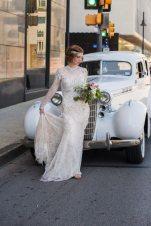 1920s Bride Vintage Car